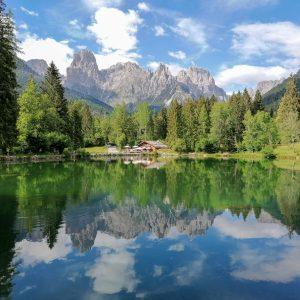 Rifugio Treviso e Lago Welsperg